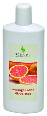 Schupp Massagelotion GRAPEFRUIT 6x1000 ml+1 Spender Paraffinfrei
