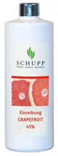 Schupp Einreibung GRAPEFRUIT 45 % 500 ml + 1 Spender