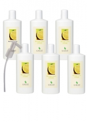 MASSAGE-LOTION ZITRONE 6 x 1000 ml + 1 Spender