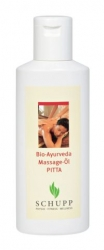 Schupp Bio-Ayurveda Massage-Öl PITTA - 200 ml