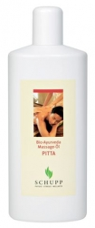 Schupp Bio-Ayurveda Massage-Öl PITTA - 1000 ml