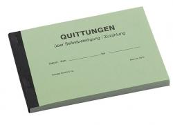 Quittungsblock für Zuzahlungen / Selbstbeteiligung