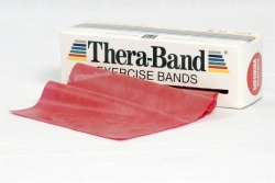 Theraband STANDARDROLLE 5,5 m x 12,8 cm rot