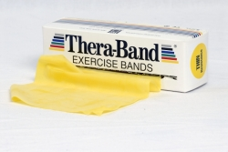 Theraband STANDARDROLLE 5,5 m x 12,8 cm gelb