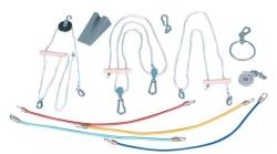 Spezialrolle mit seitlicher Seileinführung