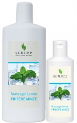 MASSAGE-LOTION FRISCHE MINZE 6 x 1000 ml + 1 Spender