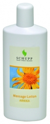 Schupp Massage-Lotion ARNIKA 6x1000 ml + 1 Spender Paraffinfrei