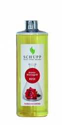 AROMA-MASSAGEÖL ROSE 500 ml + 1 Spender