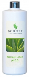 Schupp Massagelotion  pH 5,5 500 ml + 1 Spender